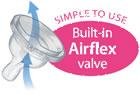 Philips Avent - Tetina Airflex 2 orificii x 2