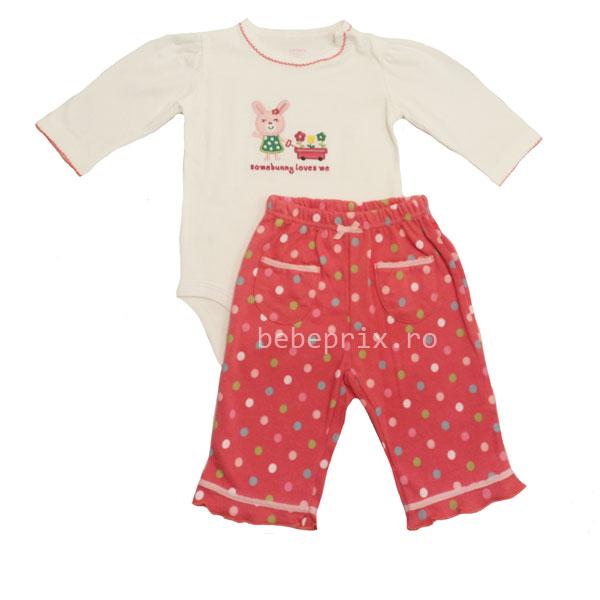 Carters - Costumas bebe Bunny pink