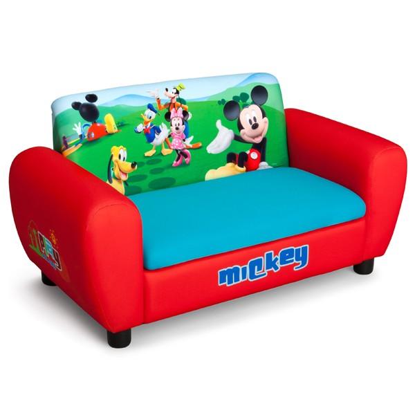 Delta Children - Canapea si cutie depozitare jucarii Disney Mickey Mouse