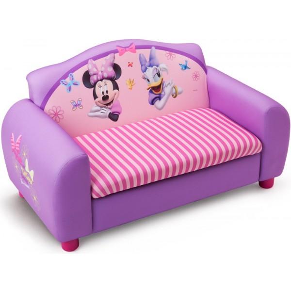 Delta Children - Canapea si cutie depozitare jucarii Disney Minnie Mouse