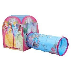 John - Cort de joaca cu tunel Disney Princess Adventure