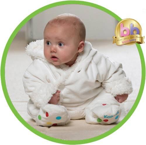 KOO-DI - Costum bebelus Fluffy 3-6 luni