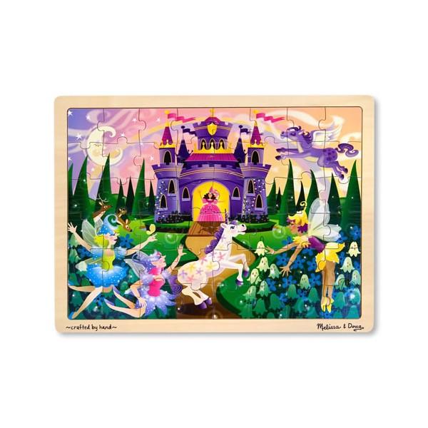 Melissa & Doug - Puzzle lemn Fairy Fantasy