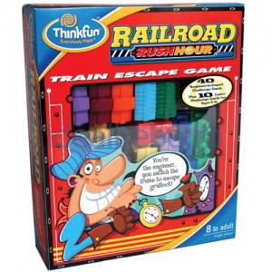 Thinkfun - Blocat in trafic Railroad