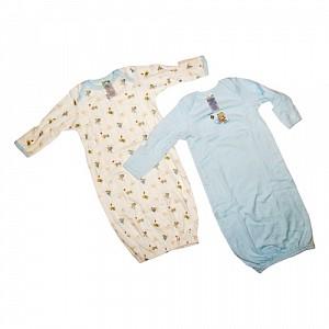 Baby Dana - Set 2 saci de dormit bleu