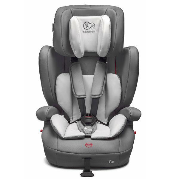 Kinderkraft - Scaun auto GO Gray 9-36kg