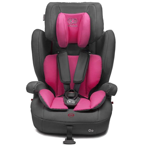 Kinderkraft - Scaun auto GO Pink 9-36kg