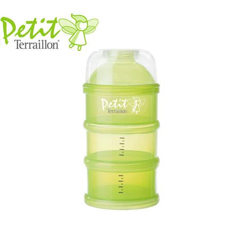 Petit Terraillon - Set recipiente dozare lapte praf Green