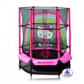 Injusa - Trambulina copii 140 cm Hello Kitty