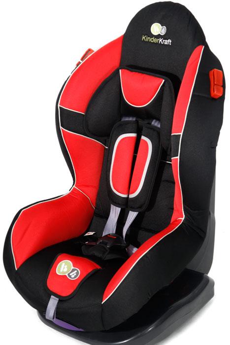 KinderKraft - Scaun auto Shell Plus Red