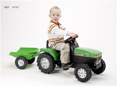 Falk - Tractor Farm si remorca verde