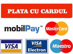 PLATESTE CU CARDUL