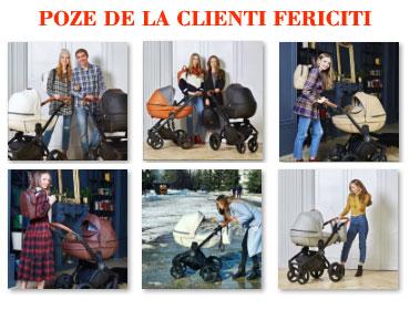 Clubul mamicilor Krausman - Carucior 3 in 1 Topaz